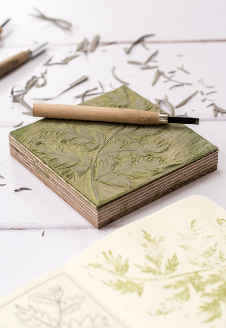 lino-cut-block-printed-fern-11